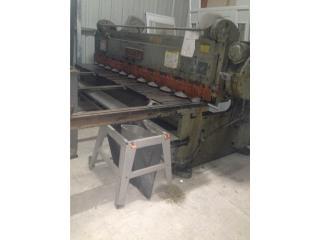 Maquina de cortar Tola- Cincinatti, Puerto Rico