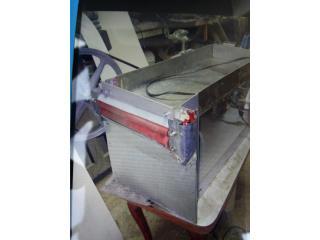 Maquina de esgranar habichuelas, Puerto Rico