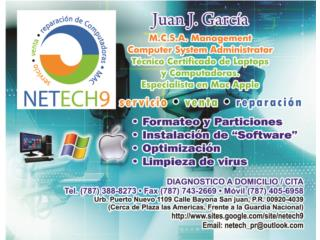 Reparacion y Servicio Computadora Mac Winndow, Puerto Rico