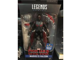Marvel Legends Falcon Walmart Exclusive, Puerto Rico