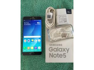 Galaxy Note 5 open mobile, Puerto Rico