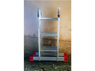 Escalera de aluminio TRANSFORME., Puerto Rico