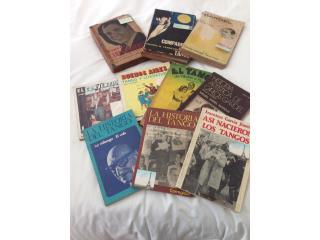11 libros historia del tango, Carlos Gardel e, Puerto Rico