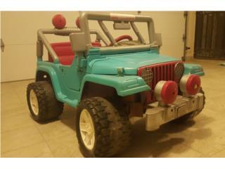 Jeep Barbie $75, Puerto Rico