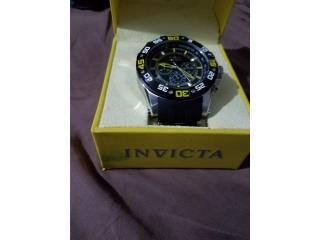 Reloj Invicta Nuevo,Nunca Usado, Puerto Rico