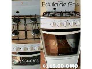 Estufa de gas, Puerto Rico