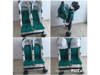 Coche Doble Uppababy G-link, Puerto Rico