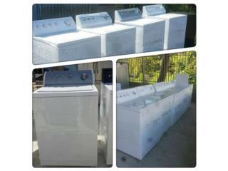 variedad de lavadoras importados con garant�a, Puerto Rico