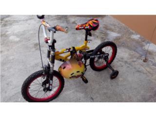 Bicicleta para ni�o, Puerto Rico