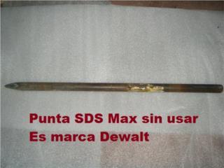 Punta nueva de chipping hammer SDS Max, Puerto Rico