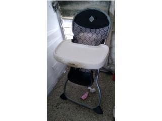 Una silla de comer para niño o niña $15, Puerto Rico