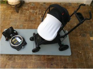 Baby Orbit G3 Stroller y Infant carseat negro, Puerto Rico