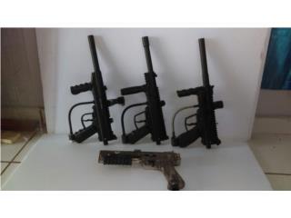 Pistolas gotcha en excelentes condiciones, Puerto Rico
