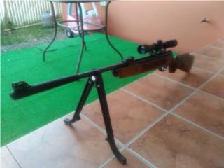 Rifle de aire .25, Puerto Rico