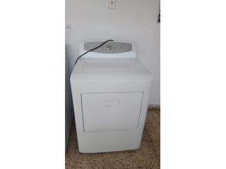 Secadora de gas sin usar, Puerto Rico