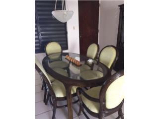 Juego de sala y juego de comedor, Puerto Rico