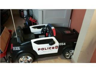 Carrito policia power wheels, Puerto Rico