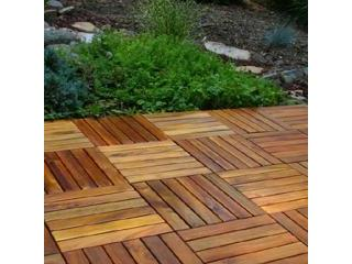 Lote losas en madera para exterior, Puerto Rico