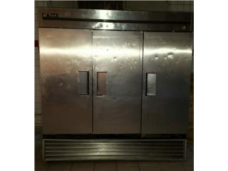 Nevera comercial 3 puertas stainless steel , Puerto Rico