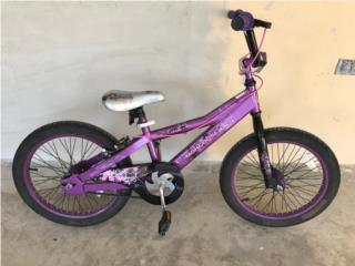 Mongoose 18 niña, Puerto Rico