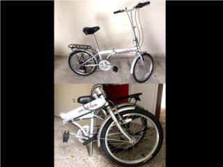 3 folding bikes para la venta, Puerto Rico