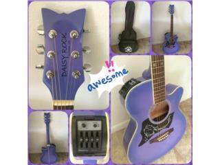 Guitarra electro-Acústica Daisy Rock, Puerto Rico