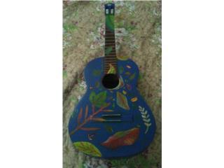 Guitarra decorativa 100.00, Puerto Rico