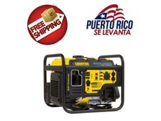 Generador inverter 4000w, Puerto Rico