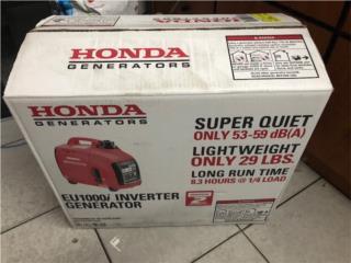 EU1000i   Planta Electrica Honda Inverter, Puerto Rico