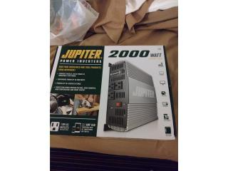 Power inverter 2000wts new, Puerto Rico