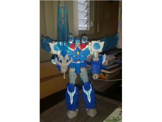 Transformers,, OPTIMUS PRIME, Puerto Rico