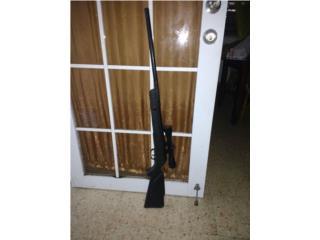 Rifle de pelets cal .177. 1200lb de presión, Puerto Rico