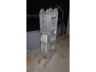 Escalera-andamio en aluminio de 16 ', Puerto Rico