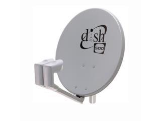 Antena Dish Network Doble 119/110 Instalada, Puerto Rico