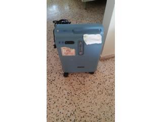 Maquina de oxigeno, Puerto Rico