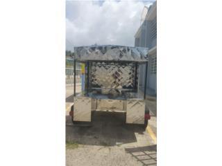 Carreton para negocio de comida, Puerto Rico