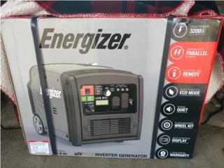 Generador inverter silencioso 3200w Energizer, Puerto Rico