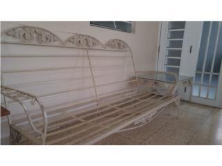 Sofa en hierro, Puerto Rico