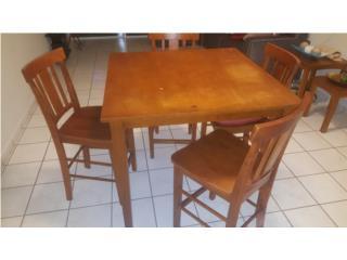 Mesa de comedor con sillas- llevatelo en $100, Puerto Rico