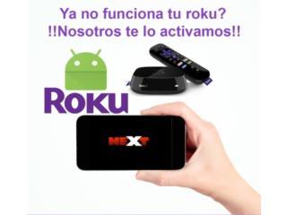 Servicio para Roku o Android 100% estable , Puerto Rico
