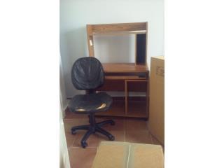 Escritorio para computadora con silla gratis, Puerto Rico