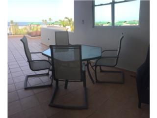 Juego de terraza $300 por mudanza , Puerto Rico