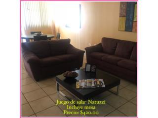 Juego de Sala- Natuzzi $420 , Puerto Rico