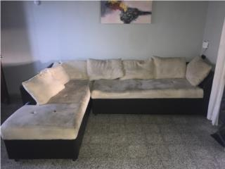 Mueble seccional crema, Puerto Rico