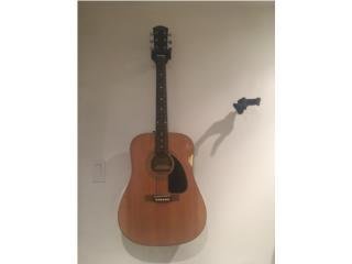 Guitarra Acustica Fender, Puerto Rico