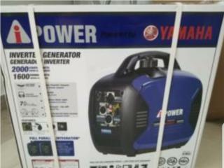 Generador yamaha inverter 2000watts, Puerto Rico