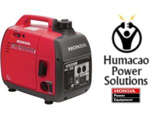 Honda 2000W Inverter-Garantía Humacao 3 años, Puerto Rico