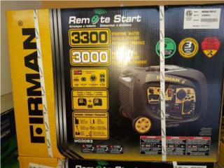 Firman 3300W Inverter Prende por beeper Nueva, Puerto Rico
