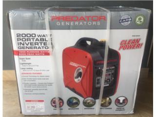 Generador Inverter Silencioso 2000Watts, Puerto Rico