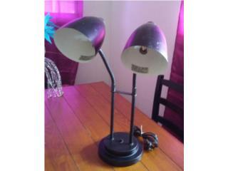 Lámpara de escritorio, Puerto Rico